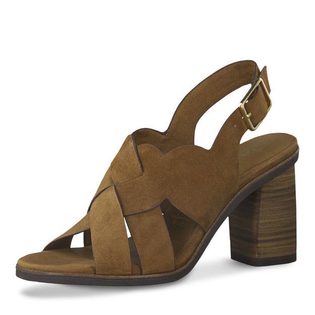 Slika Ženske sandale Tamaris 28020 cognac