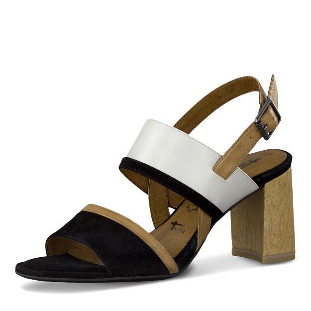 Slika Ženske sandale Tamaris 28384 black comb