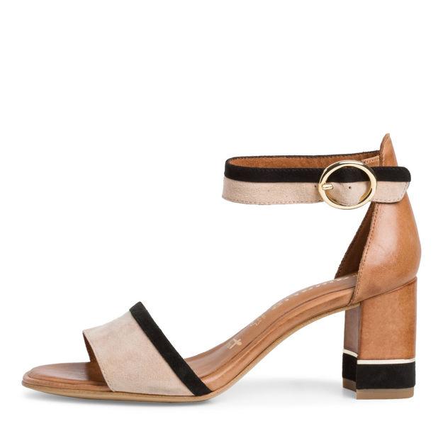 Slika Ženske sandale Tamaris 28379 cognac comb