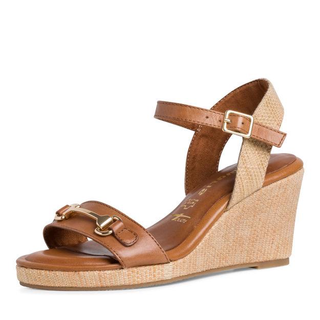 Slika Ženske sandale Tamaris 28370 cognac