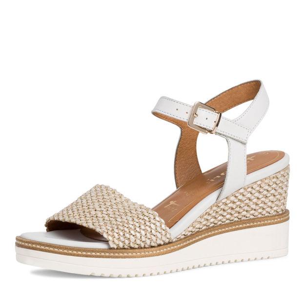 Slika Ženske sandale Tamaris 28243 white cream
