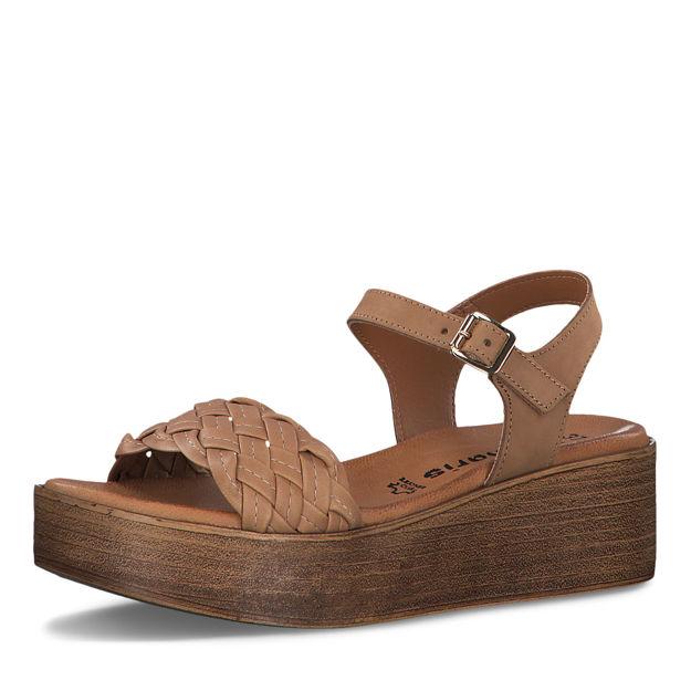 Slika Ženske sandale Tamaris 28262 cuoio
