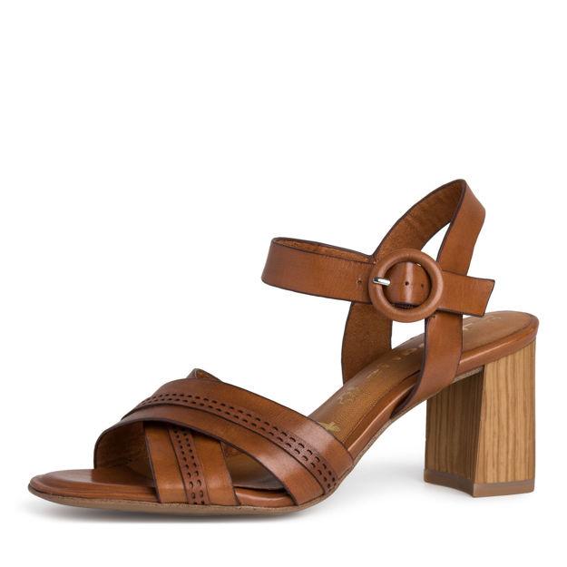 Slika Ženske sandale Tamaris 28305 cognac