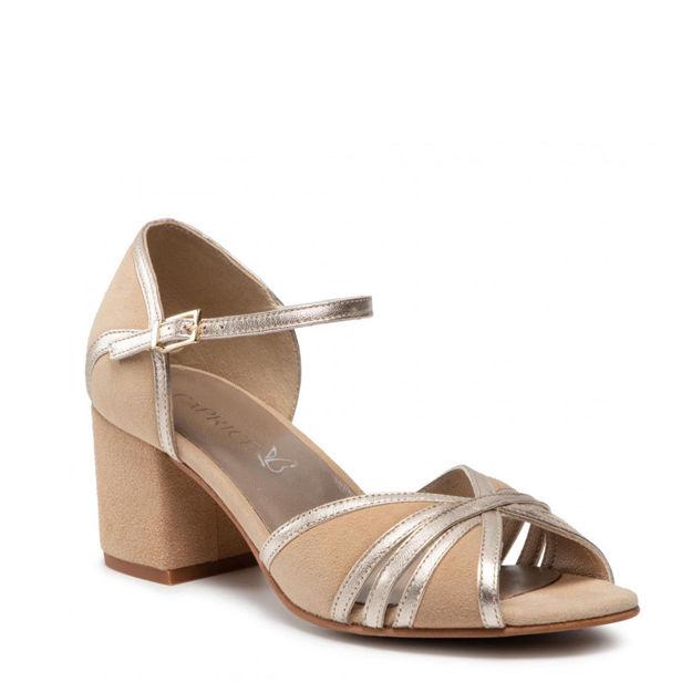 Slika Ženske sandale Caprice 28311 oak comb
