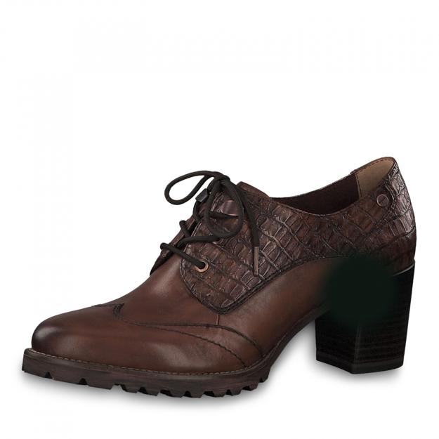 Slika Ženske cipele Tamaris 23302 chestnut/croco
