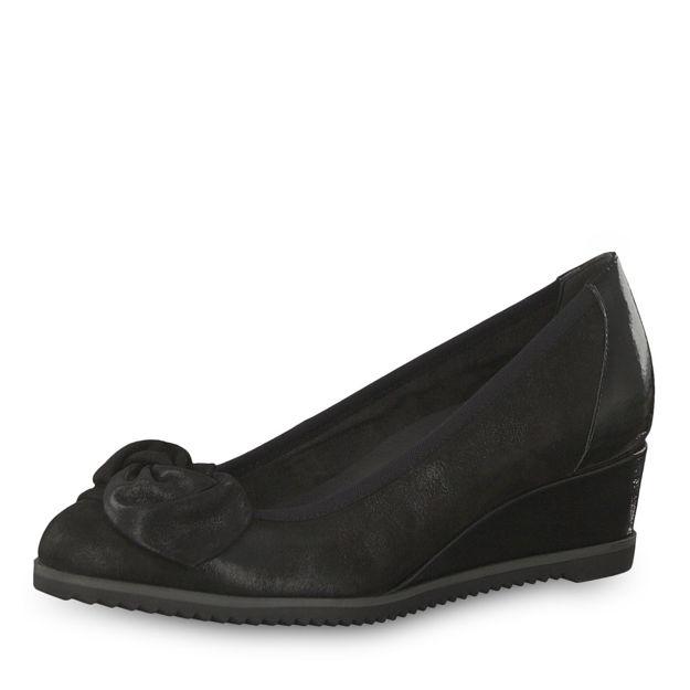 Slika Ženske cipele Tamaris 22308 black comb