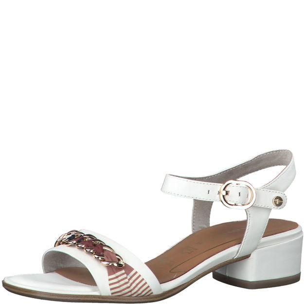 Slika Ženske sandale Tamaris 28206 white