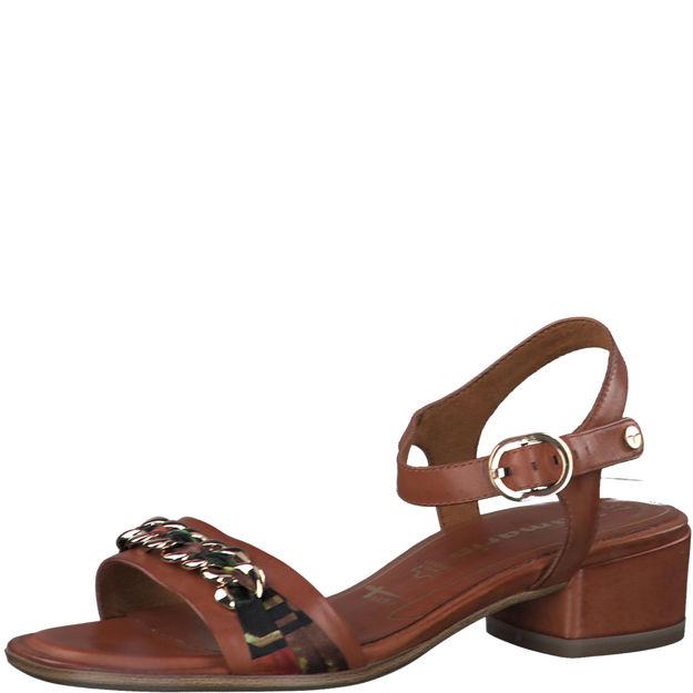 Slika Ženske sandale Tamaris 28206 cognac