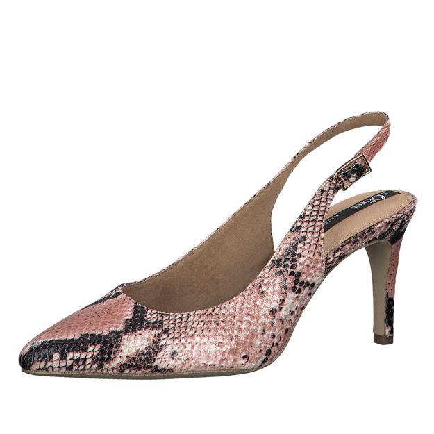 Slika Ženske sandale S Oliver 29601 lt. rose snake
