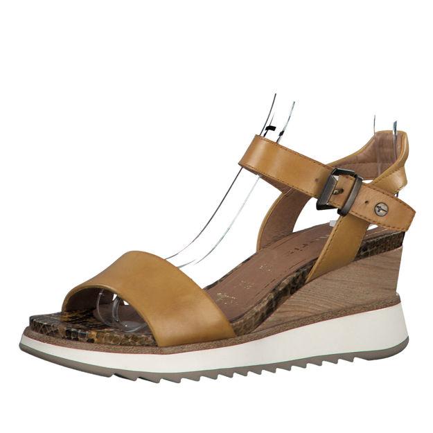 Slika Ženske sandale Tamaris 28015 safron