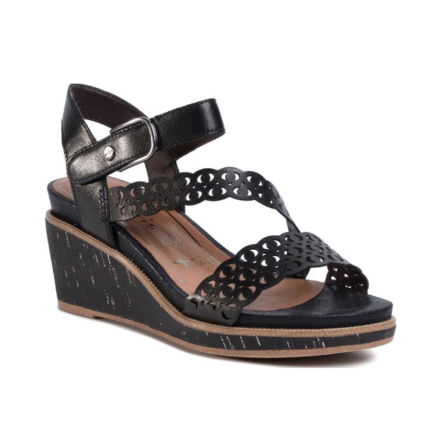 Slika Ženske sandale Tamaris 28022 black
