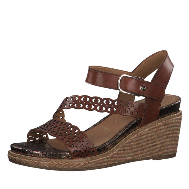 Slika Ženske sandale Tamaris 28022 brandy