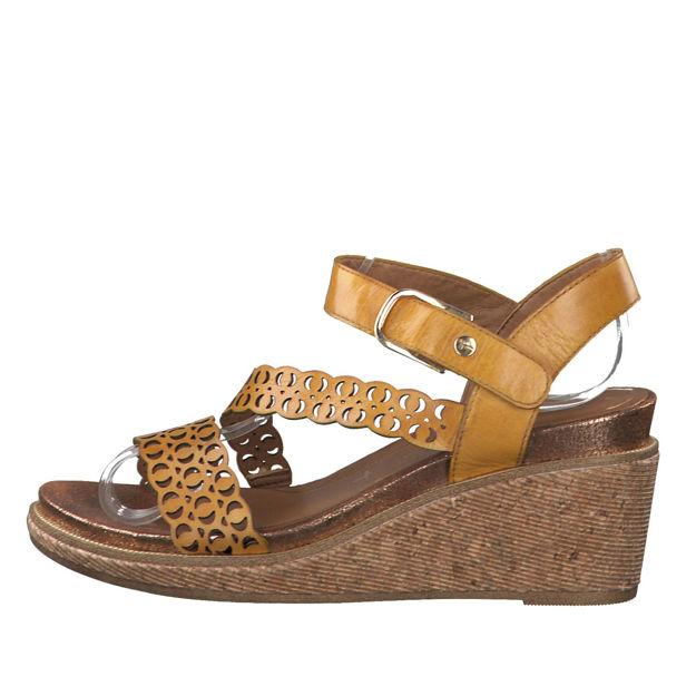 Slika Ženske sandale Tamaris 28022 safron