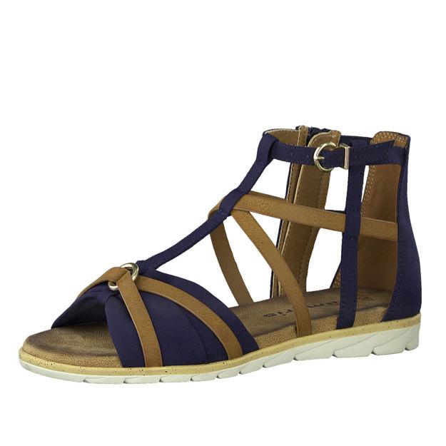 Slika Ženske sandale Tamaris 28104 navy/nut