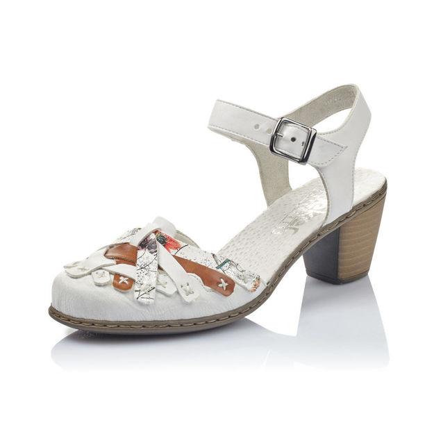 Slika Ženske sandale Rieker 40970 white